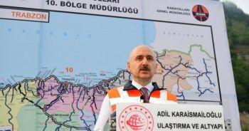 """Bakan Adil Karaismailoğlu: """"Zigana Tüneli inşaatının yüzde 70'i tamamlandı"""""""