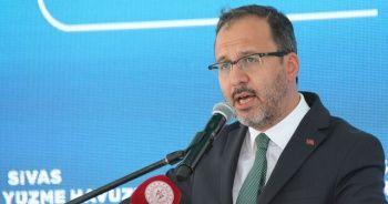 Bakan Kasapoğlu: Zirveye oynama iddiamızı icraatlarla ispatladık