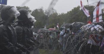 Belarus'ta protestolarda 250 gözaltı