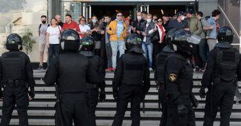 Belarus'taki hükümet karşıtı protestolarda 250'den fazla kişi gözaltına alındı