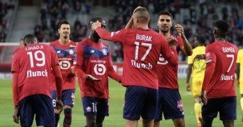 Burak Yılmaz, Lille formasıyla ilk golünü attı