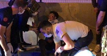 Bursa'da feci kaza! Ambulans yaralıları asfalttan topladı