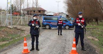 Çankırı'da bir köy 14 gün karantinaya alındı