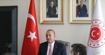 """Çavuşoğlu, Dünya Bilgi Forumu'nun """"Yeniden Asya Paneli""""ne katıldı"""