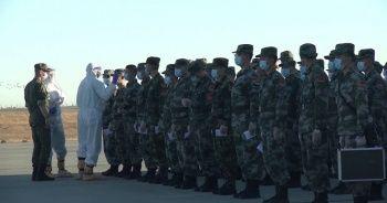 Çin ve Belarus birlikleri Rusya'ya ulaştı