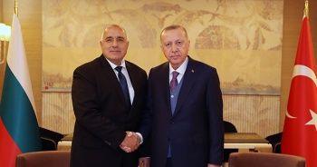 Cumhurbaşkanı Erdoğan, Borisov ile görüştü