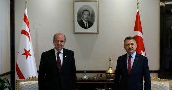 Cumhurbaşkanı Yardımcısı Fuat Oktay, KKTC Başbakanı Ersin Tatar ile görüştü
