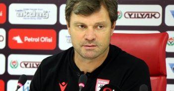 """Ertuğrul Sağlam: """"Süper Lig'e ulaşmış bir takım olarak sezonu kapatacağımıza yürekten inanıyorum"""""""