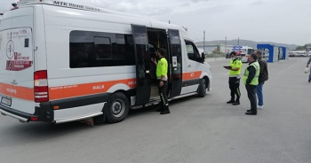 Fazla yolcu taşıyan toplu taşıma aracı şoförlerine ceza yağdı