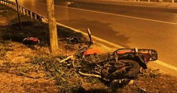 Feci motosiklet kazası: 1 ölü