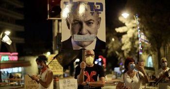 İsrail'de Netanyahu karıştı gösteriye binlerce kişi katıldı