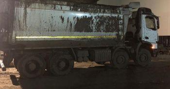 Kamyonun altında kalan maden işçisi hayatını kaybetti