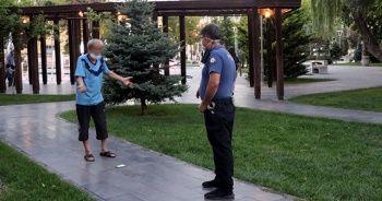 Karantinayı ihlal eden kişi polis denetiminde yakalandı