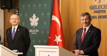 Kılıçdaroğlu'ndan Davutoğlu'na ziyareti