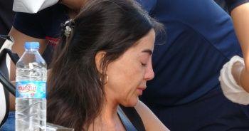Lüks aracıyla kaza yapan kadın sürücü şok yaşadı