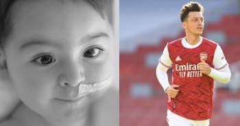 Mesut Özil'den SMA hastası Metehan bebek için yardım çağrısı