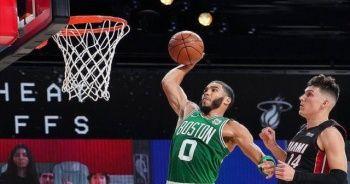 NBA'de Boston Celtics, konferans finallerinde ilk galibiyetini aldı