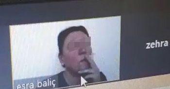 Öğrencilerine canlı yayında ders verirken sigara içen öğretmene idari soruşturma
