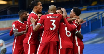 Premier Lig'de Liverpool, 10 kişi kalan Chelsea'yi yendi