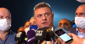 Rizespor Başkanı Kartal: Bu hakem değil. Bunu sokakta bulup getirmişler