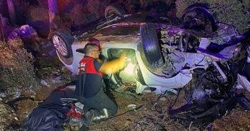 Sakar rampasında kaza: 1 ölü