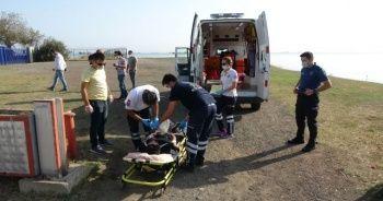 Samsun'da bir genç bilekleri kesilmiş halde baygın bulundu