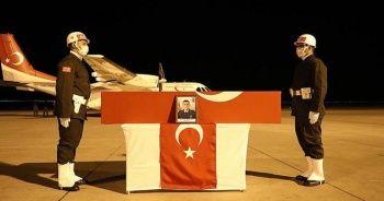 Şehit Teğmen Harun Aslan'ın cenazesi memleketi Ağrı'ya getirildi