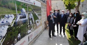 TBMM Başkanı Şentop ve Cumhurbaşkanı Erdoğan'ın eşi Emine Erdoğan Edirne'de ziyaretlerde bulundu