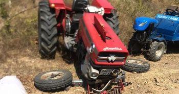 Traktör kazasında yaşlı çift hayatını kaybetti