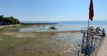 Türkiye'nin 5. büyük gölünde korkutan çekilme