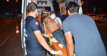 Yabancı uyruklu şahıs bıçaklanmış halde bulundu