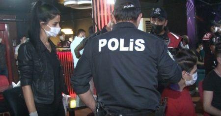 750 polisin katılımıyla koronavirüs denetimi