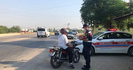 Adana'da 195 araç ve sürücüye 92 bin 841 lira ceza