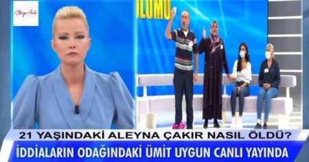 Aleyna'nın ölümünden sorumlu tutulan erkek arkadaşı Müge Anlı'ya konuştu