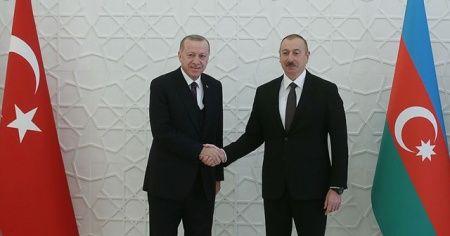 Aliyev'den Cumhurbaşkanı Erdoğan'a teşekkür