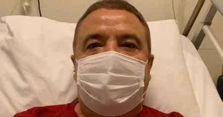 Antalya Büyükşehir Belediye Başkanı Böcek'in klinik seyrinde düzelme sürüyor