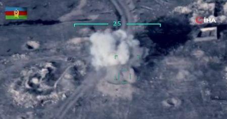 Azerbaycan, Ermenistan silahlı kuvvetlerine ait hedefleri böyle yok etti