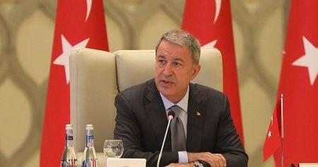 Bakan Akar: Ermenistan'ın bu alçak saldırısını şiddetle kınıyoruz