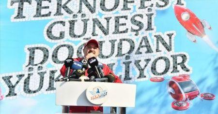 Bakan Varank: TEKNOFEST toplumu dönüştürme gücüne sahip olan bir etkinlik
