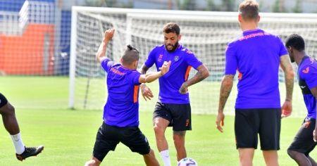 Başakşehir, Galatasaray maçı hazırlıklarına devam etti