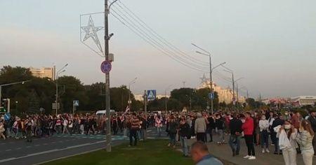Belarus'ta Lukaşenko'nun yemin töreninden sonra sokaklar karıştı