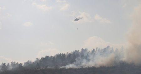 Bolu'da yangın 40 hektarlık alanda etkili oluyor