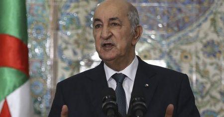 Cezayir Cumhurbaşkanı Tebbun: İsrail'le normalleşme furyasına katılmayacağız