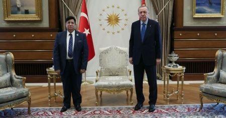 Cumhurbaşkanı Erdoğan, Bangladeş Dışişleri Bakanı'nı kabul etti