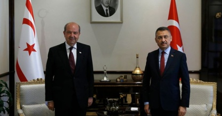 Cumhurbaşkanı Yardımcısı Oktay, KKTC Başbakanı Tatar ile görüşecek