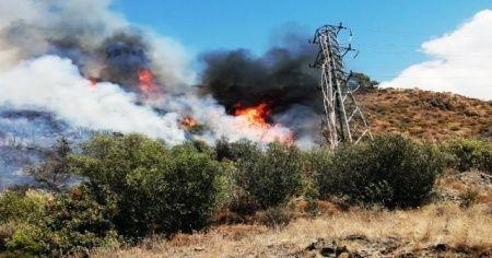 Dalaman'da yangın söndürüldü