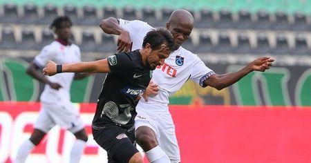 Denizlispor ile Trabzonspor berabere kaldı