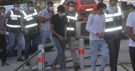 Elazığ'da kombi hırsızlığı: 4 tutuklama