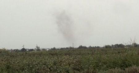 Ermeni ordusu sivil yerleşim birimlerini vurdu