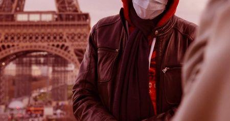Fransa'da son 24 saatte 11 bin 123 yeni Kovid-19 vakası